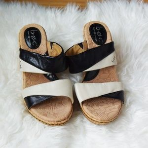 Born Black and White Wedges